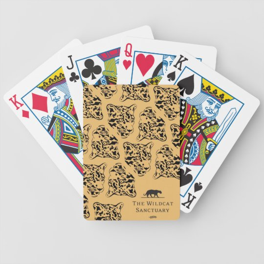 Leopard Print Playing Cards