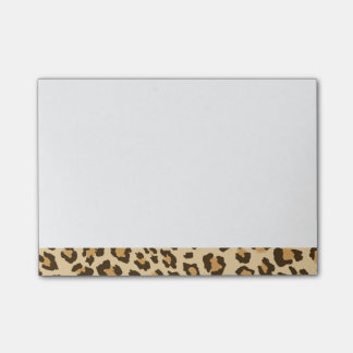 Leopard Print Post-it Notes