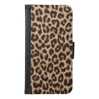 Leopard Print Samsung Galaxy S6 Wallet Case