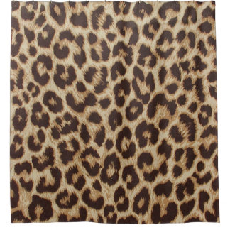 Leopard Print Shower Curtain