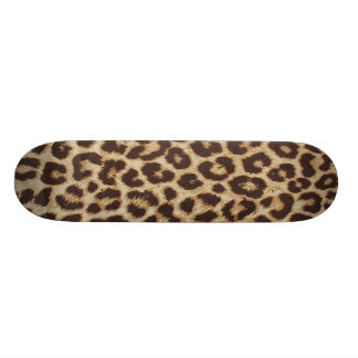 Leopard Print Skate Boards