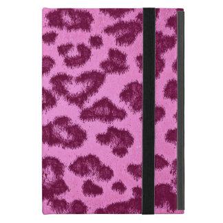 Leopard print skin fur 3 iPad mini cover