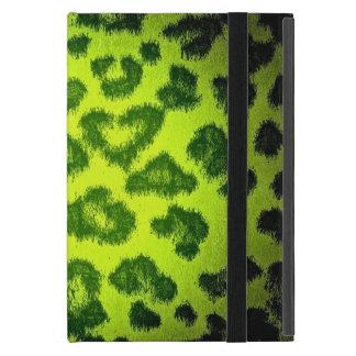 Leopard print skin fur 5 cases for iPad mini