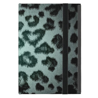Leopard print skin fur 6 cases for iPad mini