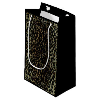 Leopard Print Small Gift Bag