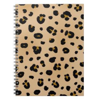 Leopard Print Spiral Notebook