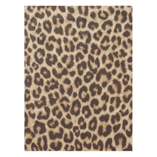 Leopard Print Tablecloth