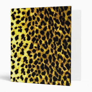 Leopard Print Wallpaper 3 Ring Binder