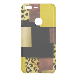 Leopard Print & Wood Collage Uncommon Google Pixel XL Case