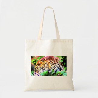 Leopard Resting in the Jungle Tote Bag