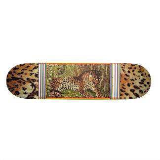 leopard sk.1 custom skateboard