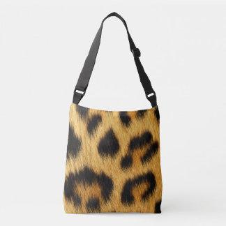 Leopard Skin Animal Print Crossbody Bag