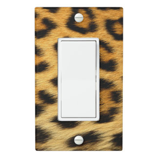 Leopard Skin Animal Print Light Switch Cover