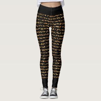 Leopard skin Animal Skin Print Leggings