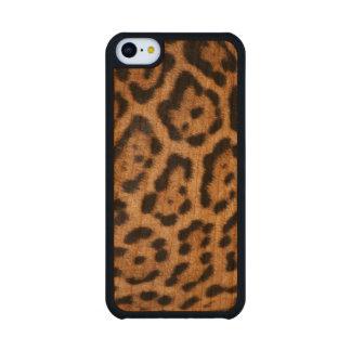 Leopard Skin Cell Phone Case Cherry iPhone 5C Case