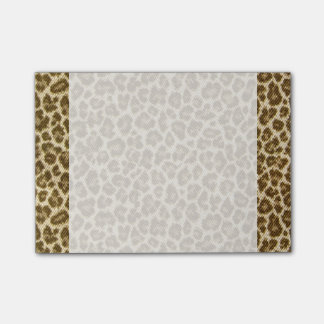 Leopard Skin Fabric Pattern Post-it® Notes
