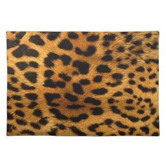 Leopard Skin Fur Animal Print Placemat
