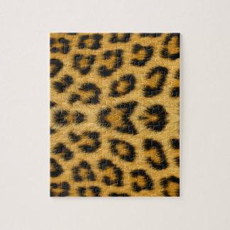 Leopard Skin, Fur, Hair Print Jigsaw Puzzle