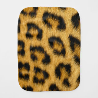 Leopard Skin, Hair, Fur, Print Burp Cloth
