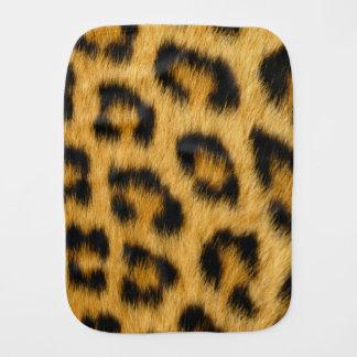 Leopard Skin, Hair, Fur, Print Burp Cloths