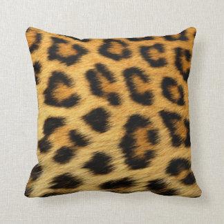 Leopard Skin Pattern Throw Pillow