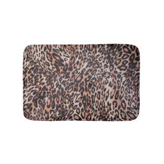 Leopard Skin Print Bath Mat