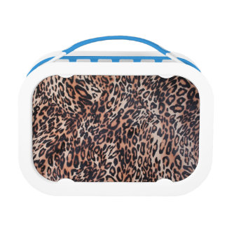 Leopard Skin Print Lunch Boxes