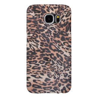 Leopard Skin Samsung Galaxy S6 Cases