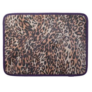 Leopard Skin Sleeve For MacBooks