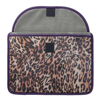 Leopard Skin Sleeves For MacBook Pro