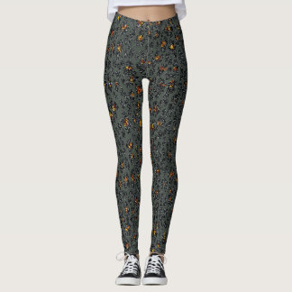 Leopard Sparkle (dark) Leggings