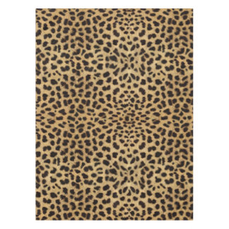 Leopard Spot Pattern Print Tablecloth
