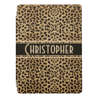 Leopard Spot Skin Design Print Personalized iPad Pro Cover