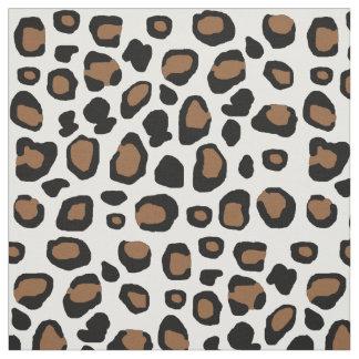 Leopard Spots Animal Print Fabric