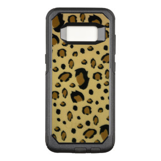 Leopard Spots Brushed Fur Texture Look OtterBox Commuter Samsung Galaxy S8 Case