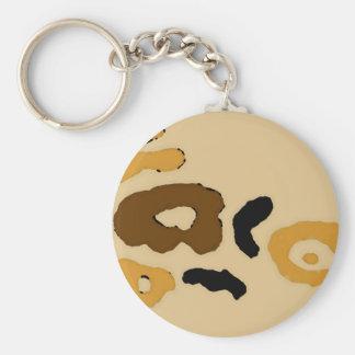 """Leopard Spots""  CricketDiane Art & Design Keychain"