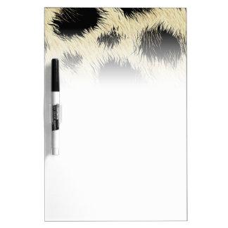 Leopard spots dry erase board
