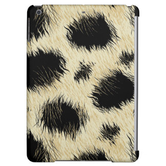 Leopard spots fur iPad air covers