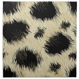 Leopard spots napkin