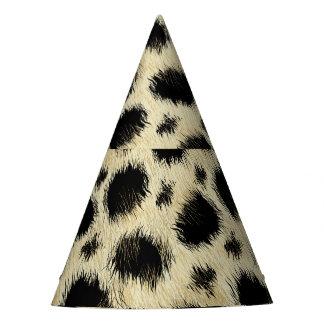 Leopard spots party hat