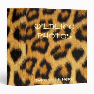 LEOPARD SPOTS Photo Album (Binder) Binder