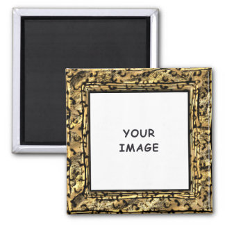 Leopard Spots Photo Frame Magnet