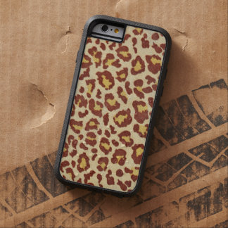 Leopard Spots Ultrasuede Look Tough Xtreme iPhone 6 Case