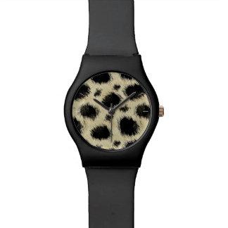 Leopard spots watch