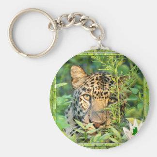 Leopard St. Patrick's Keychain