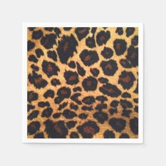 Leopard Standard Cocktail Paper Napkins