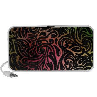 Leopard Swirl Mini Speaker