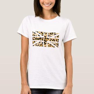 Leopard UK Flag T-shirt