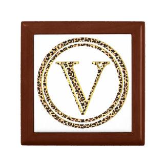 Leopard V Jewelry Box