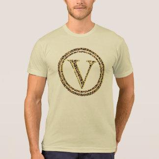 Leopard V T-Shirt